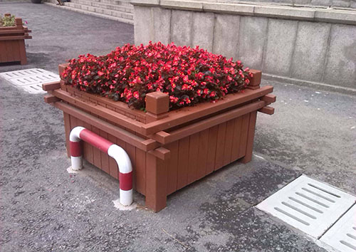 贵州防腐木花箱