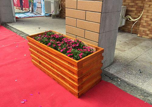 贵阳木制花箱