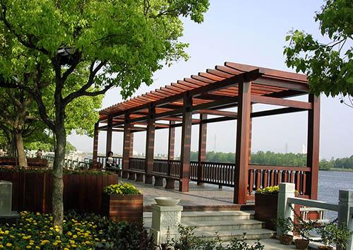 贵州防腐木花架