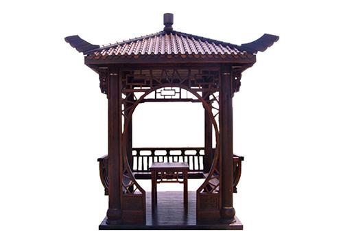 六盘水贵州防腐木凉亭
