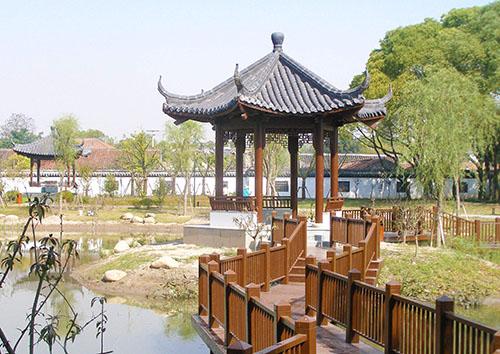 六盘水贵州防腐木景观凉亭