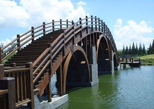 六盘水防腐木桥
