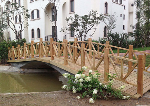 防腐木桥设计