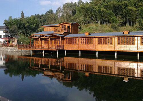 防腐木木屋設計