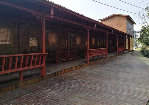 景區防腐木屋