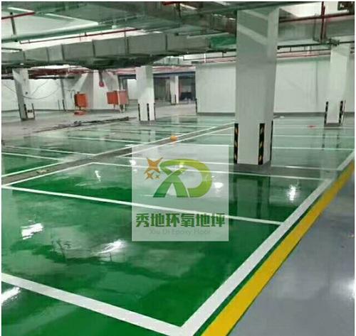 郑州环氧停车场地坪