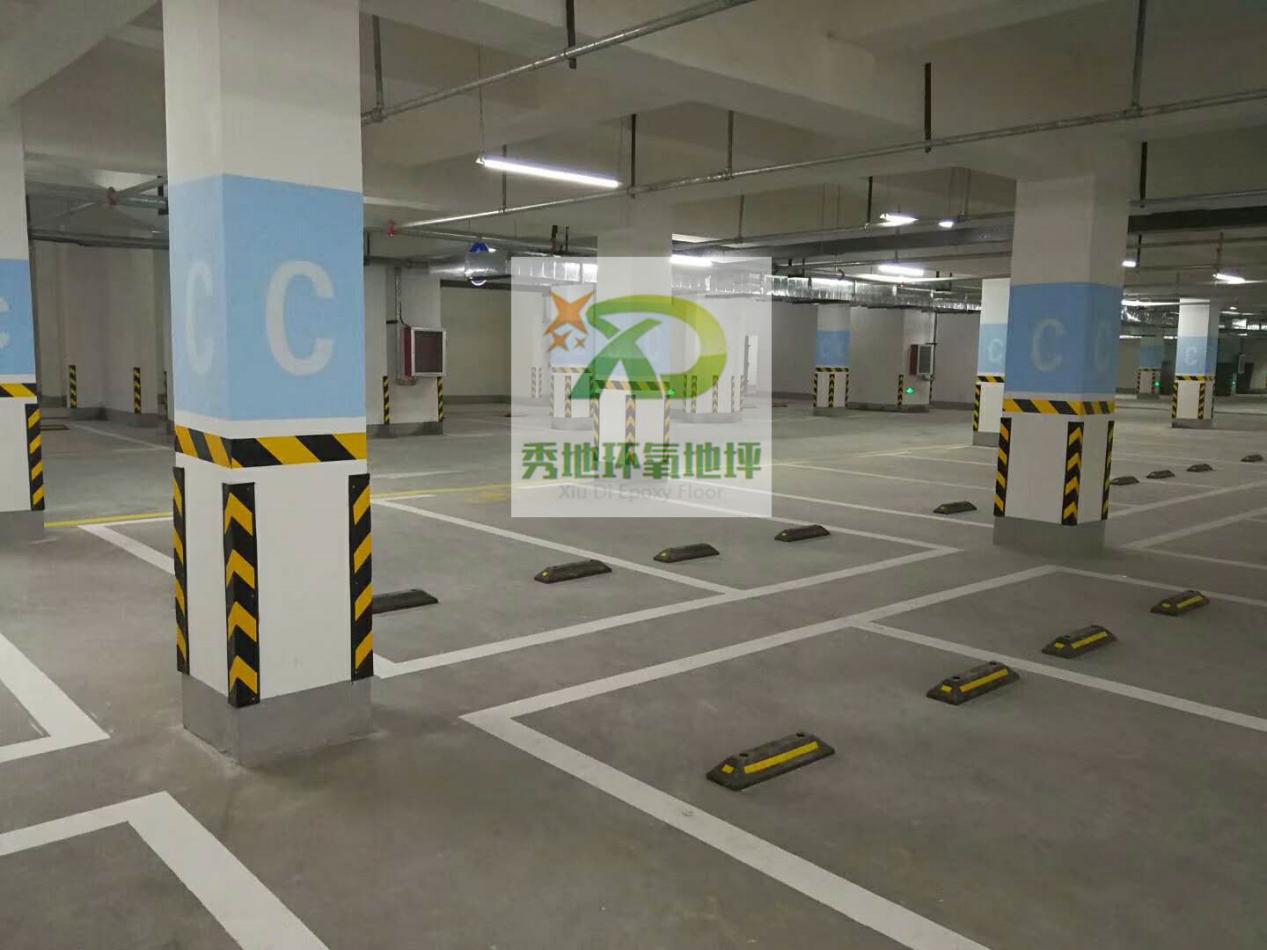 郑州停车场地坪