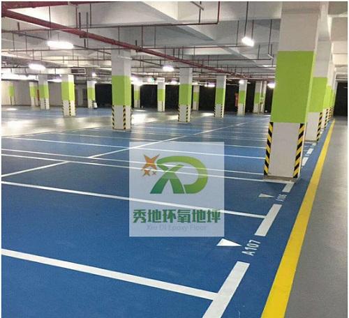 郑州停车场环氧地坪
