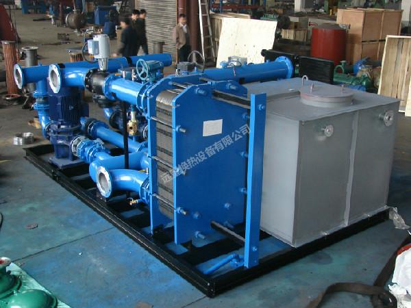 水水板式换热机组