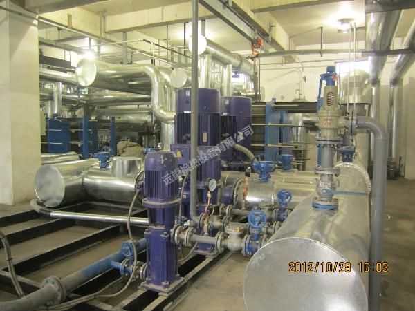 管壳式汽水换热机组