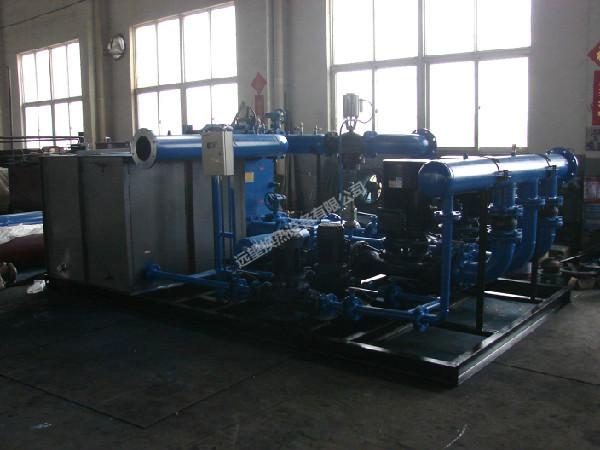 4.9mw板式水水换热机组