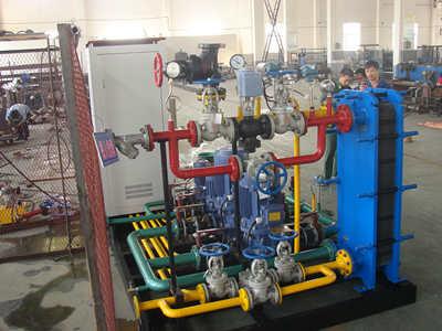 水水换热机组