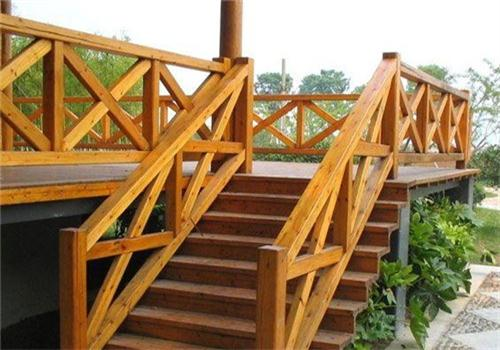 咸宁防腐木楼梯