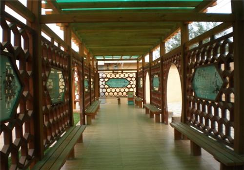 恩施防腐木长廊