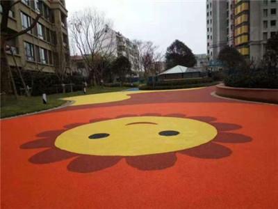 彩色透水混凝土地坪施工