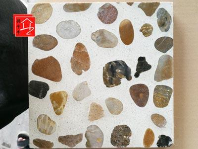 传统水磨石