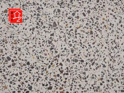 上海展厅水磨石地板