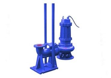 立式無堵塞潛水排汙泵