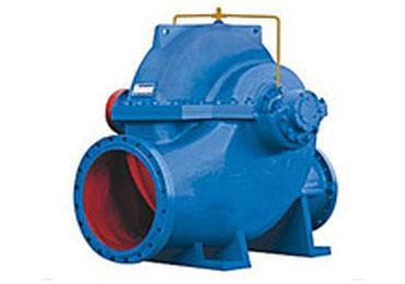 開蝸殼單級雙吸離心泵