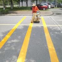 道路划线施工