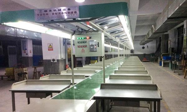 温州带桌流水线工作台