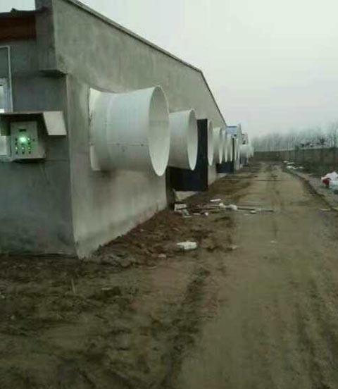 济南玻璃钢养殖风机