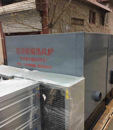 济南鸡舍专用热风炉
