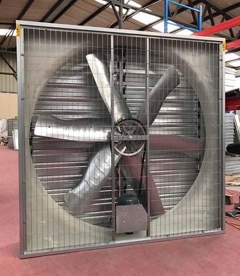 德州推拉式风机设备