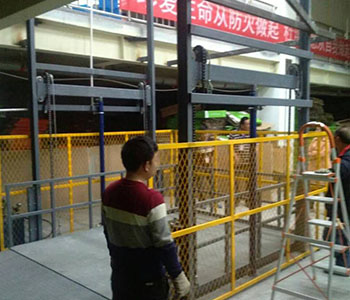 矿厂用货梯