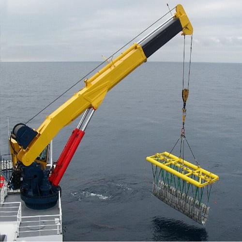 5T-16m Hydraulic telescopic boom crane