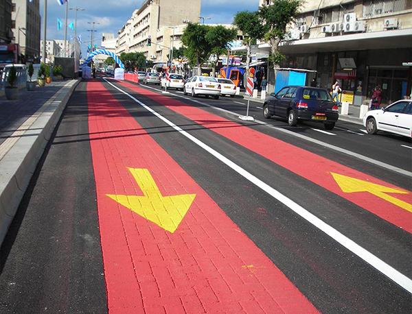 大连彩色防滑路面施工