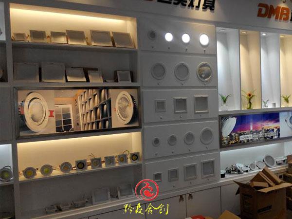 贵州灯具展柜