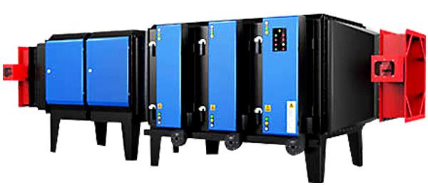 卧式工业废气净化设备