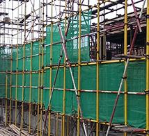 大理钢管搭建施工现场