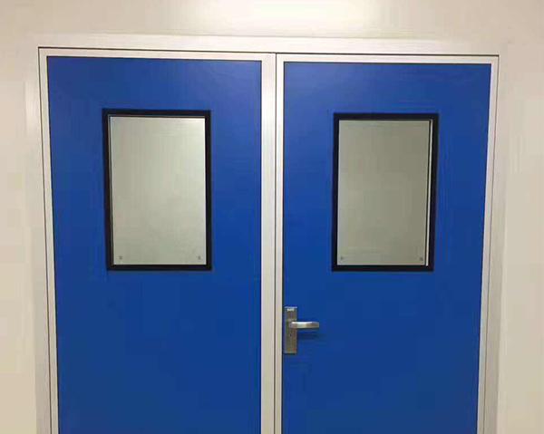 鞍山净化门安装