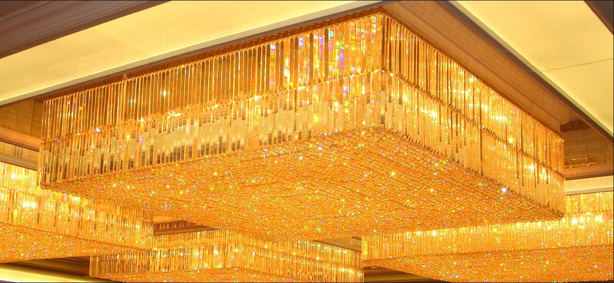 贵州天禧豪都酒店大堂灯
