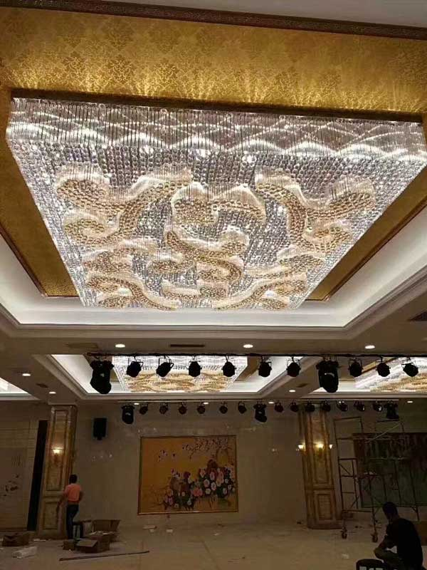 南京酒店工程灯定制