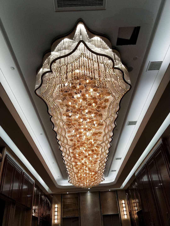 哈尔滨酒店非标工程灯定制