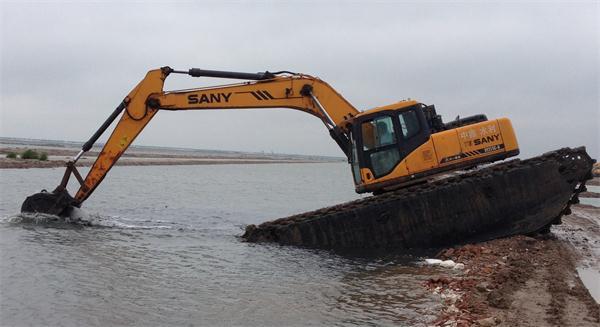 湖北水陆挖掘机出租