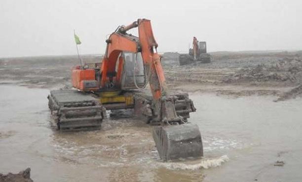 湖北水路挖机出租