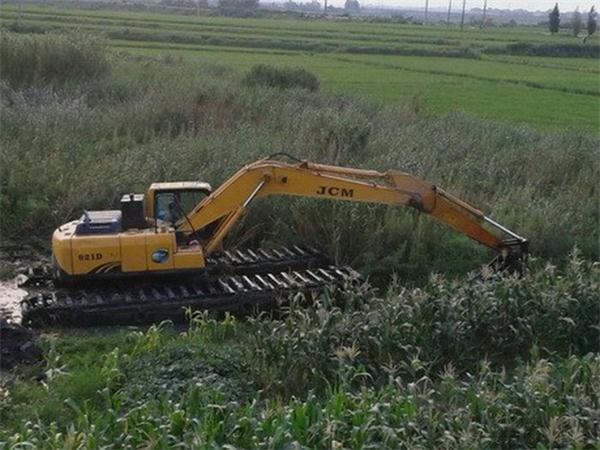 黄冈沼泽地挖掘机出租