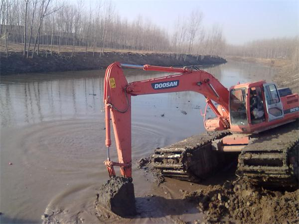 重庆水陆挖机出租