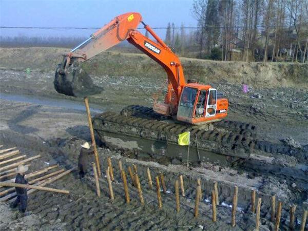 上海水陆挖机出租