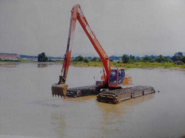 武汉福建水陆挖机出租