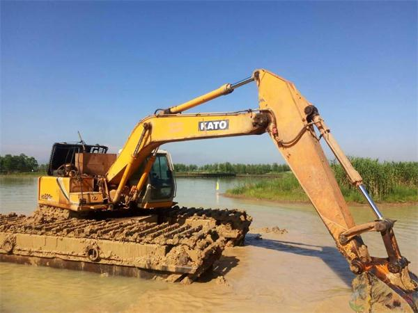 水陆两用挖机租赁