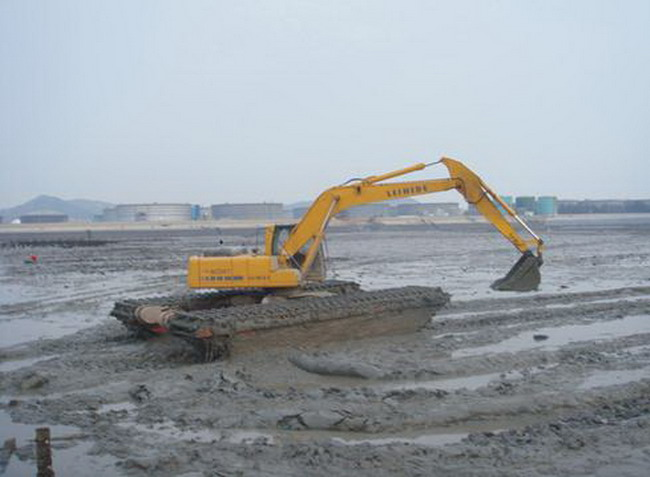 湿地挖掘机出租
