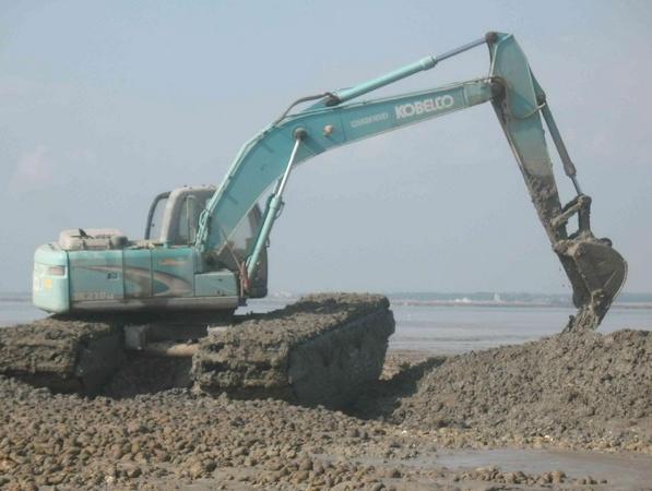 水路两用挖机租赁