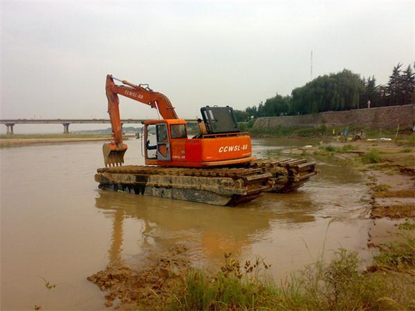 天门水路挖掘机出租