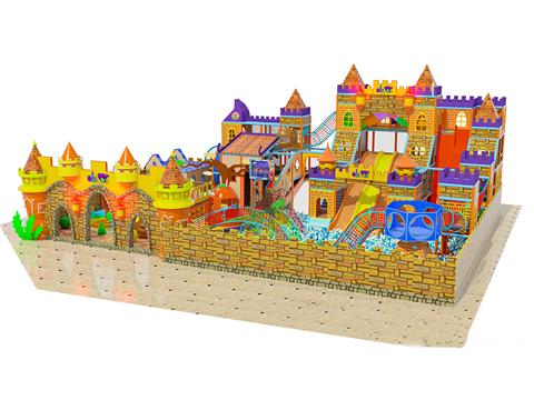 城堡主题淘气堡