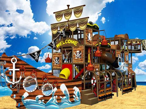 海盗船主题淘气堡